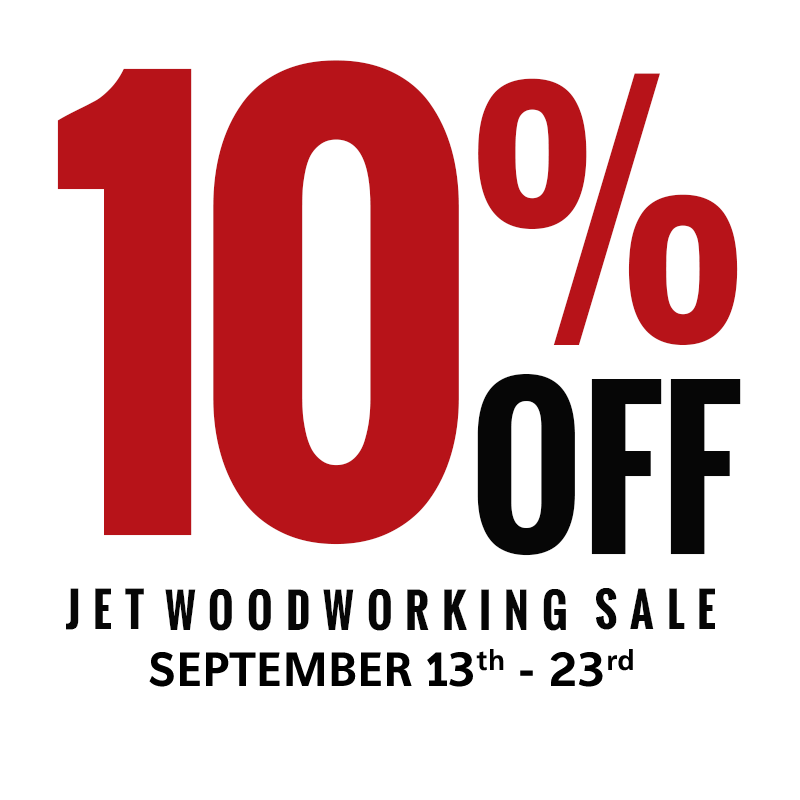 10% Off Jet Jointers and Accessories