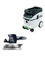 Festool RS 2E Orbital Sander & CT-33 Dust Extractor Package, FTP3567669