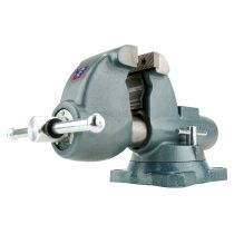 """10200, Wilton C-0, Combination Pipe and Bench Vises - Swivel Base, 3-1/2"""" Jaw Width, 5"""" Jaw Opening, 4-1/2"""" Throat Depth"""
