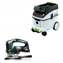 Festool PS 300 EQ Jigsaw & CT-33 Dust Extractor Package, FTP3561097