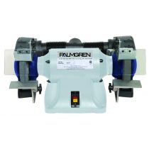 9682082, Palmgren 8in 3/4HP 220/380V, 3PH grinder w/dust collection