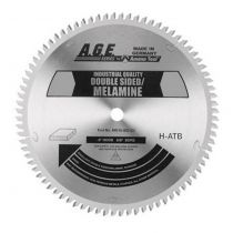 MD220-T643, A.G.E. Double Sided Melamine Saw Blade, 220mm Dia. x 64Teeth, 30mm Bore
