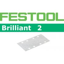 492828, Festool Brilliant P180 Grit Abrasives for RS 2 E Sander, Pack of 100
