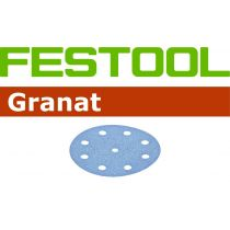 497369, Festool Granat Abrasive, 3.5 in, 180 grit, 100 pcs