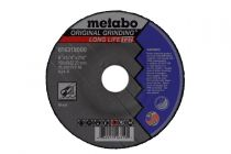 616308000, Metabo 5in X 1/4in X 7/8in, TYPE 27, A24R, Grinding Disc - 25 Pack