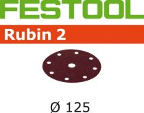 499099, Festool Rubin2 Abrasive 5 in, 180 Grit, 50 pcs