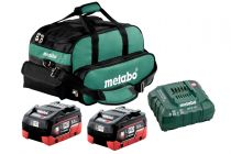 US625342002, Metabo 2x 18 Volt, 5.5Ah LiHD Ultra-M Battery Pro kit