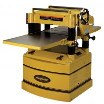 1791316, Powermatic 209HH-3 With Byrd Shelix Helical Cutterhead, 5HP, 3Ph Planer (Woodworking)