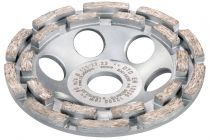 628209000, Metabo Row Diamond Cup Wheel 5in