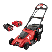 SM4910-10, Skil 40V, 2P, 5.0Ah battery & charger, 20in Self-Propelled Mower Kit
