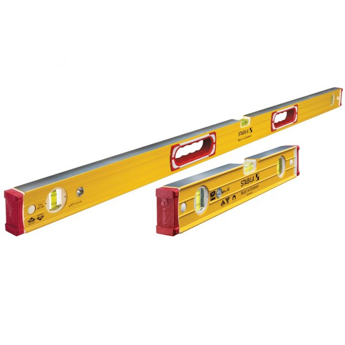 38816, Stabila 16 Inch & 48 Inch Type 196 Magnetic Level Tool Set